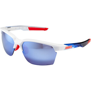 100% Sportcoupe Brille polished white/geo pattern polished white/geo pattern