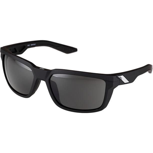 100% Daze Brille soft tact black