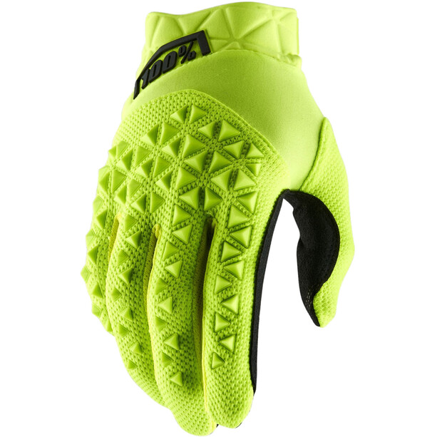 100% Airmatic Handschuhe yellow/black