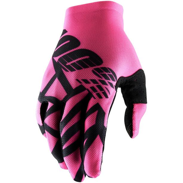 100% Celium 2 Handschuhe neon pink/black