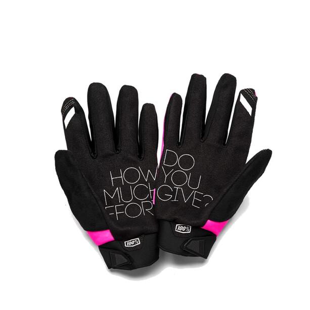 100% Brisker Cold Weather Handschuhe Damen pink/black
