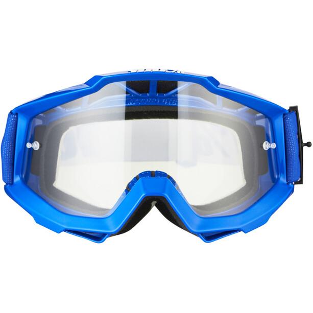 100% Accuri OTG Anti Fog Clear Goggles reflex blue