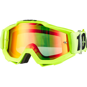 100% Accuri Anti Fog Mirror Goggles Jugend fluo yellow fluo yellow