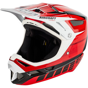 100% Aircraft DH Helm inkl. Mips dexter red dexter red