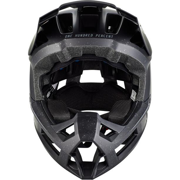 100% Trajecta Helm black