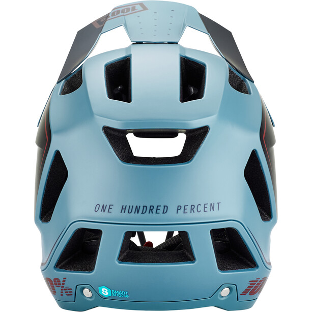 100% Trajecta Helm slate blue