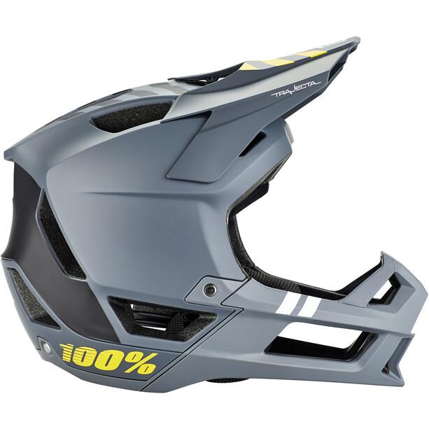 100% Trajecta Helm charcoal