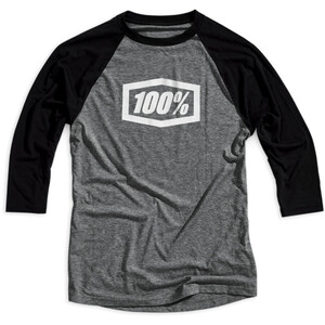 100% Essential 3/4 Tech T-Shirt Herren grey/black grey/black