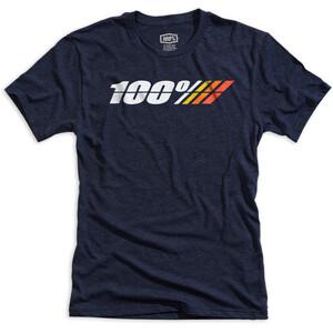 100% Motorcycle Tech T-Shirt Herren navy heather navy heather
