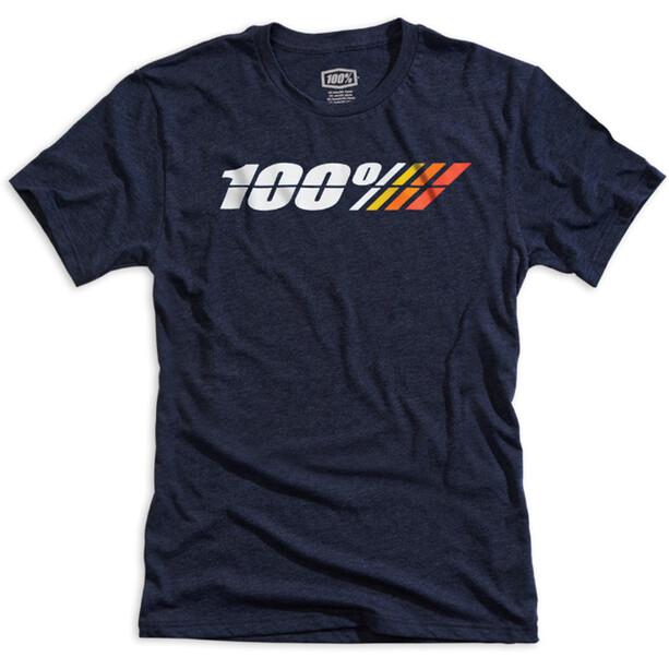 100% Motorcycle Tech T-Shirt Herren navy heather