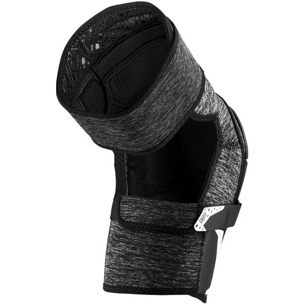 100% Fortis Knee Guards grey heather/black