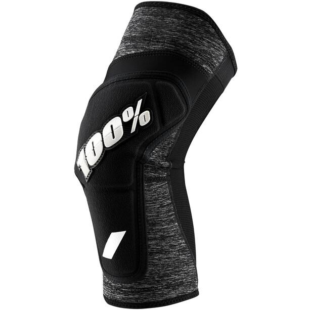 100% Ridecamp Knieprotektoren grey heather/black