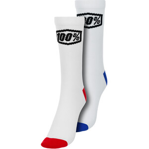 100% Terrain Socken weiß weiß