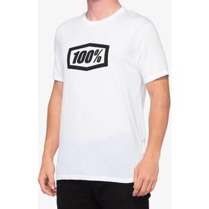 100% Essential T skjorte Herre Hvit Hvit