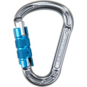 Climbing Technology Concept TG Carabiner grå/blå grå/blå