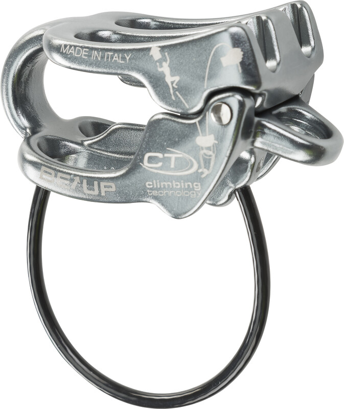 Climbing Technology Be-Up Belay Device grey  2019 Taubremser