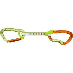 Climbing Technology Nimble Evo Flixbar Quickdraw DY 12cm, oranje/groen oranje/groen