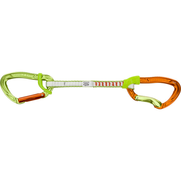 Climbing Technology Nimble Evo Flixbar Expressschlinge DY 17cm orange/green