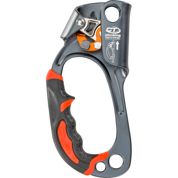 Climbing Technology Quick Up + Steigklemme Left Hand grey