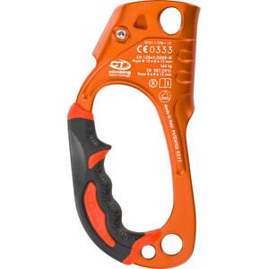 Climbing Technology Quick Up + Przyrząd zaciskowy prawy, pomarańczowy pomarańczowy