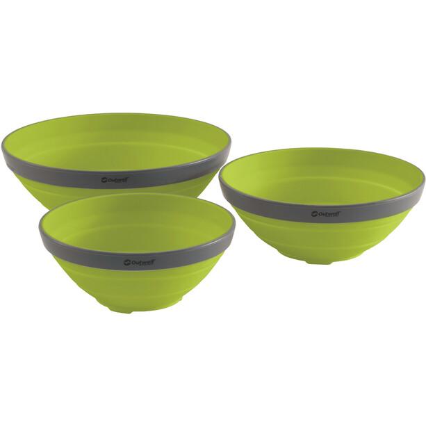 Outwell Collaps Schüssel Set lime green