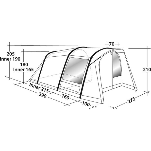 Robens Lookout 500 Zelt