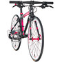 s'cool raX 20 flat Roadbike Kinder black/red matt