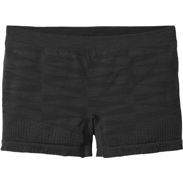 Smartwool PhD Merino Seamless Boy Shorts Damen black
