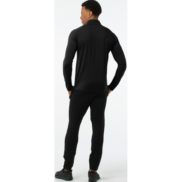 Smartwool Merino 150 1/4 Zip Baselayer Herren black