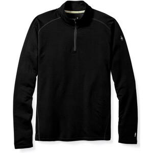 Smartwool Merino 150 1/4 Zip Baselayer Herren black black