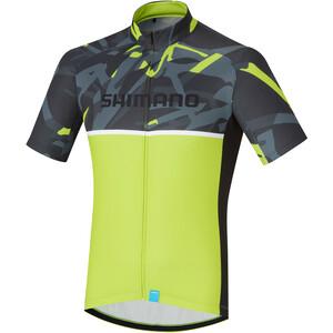 Shimano Team Trikot Herren yellow yellow