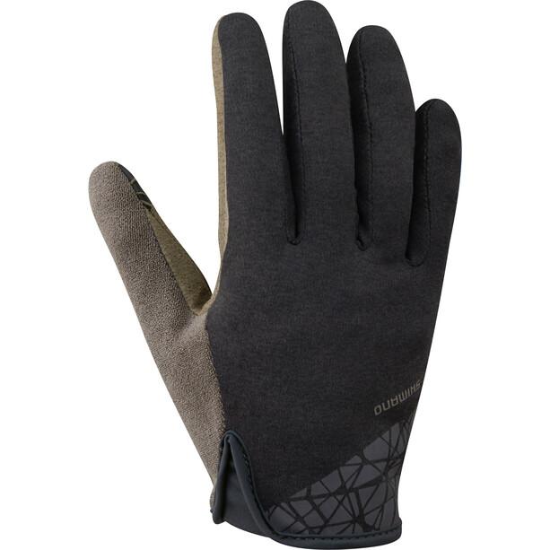 Shimano Transit Lange Handschuhe Herren black