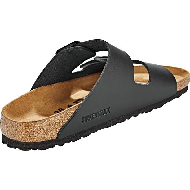Birkenstock Arizona Sandals Birko-Flor Nubuk Narrow, noir