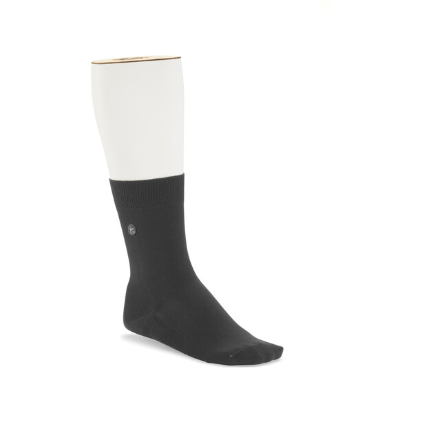 Birkenstock Cotton Sole Socken Herren schwarz