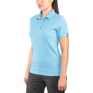 Meru Wembley Funktions-Poloshirt Damen ethereal blue ethereal blue