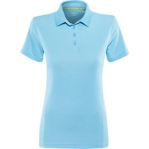 Meru Wembley Funktions-Poloshirt Damen ethereal blue ethereal blue