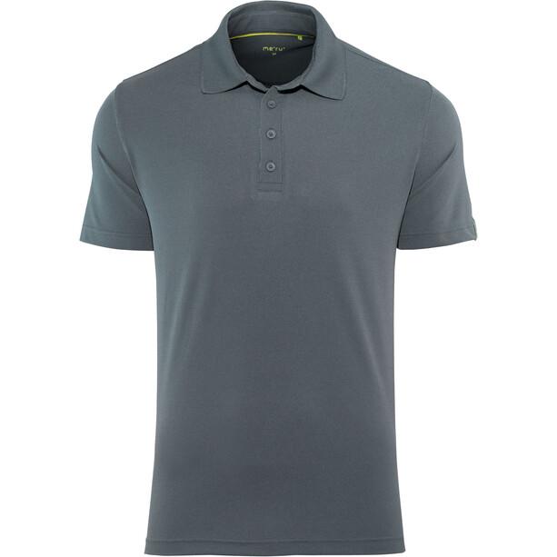 Meru Wembley Funktions-Poloshirt Herren ombre blue