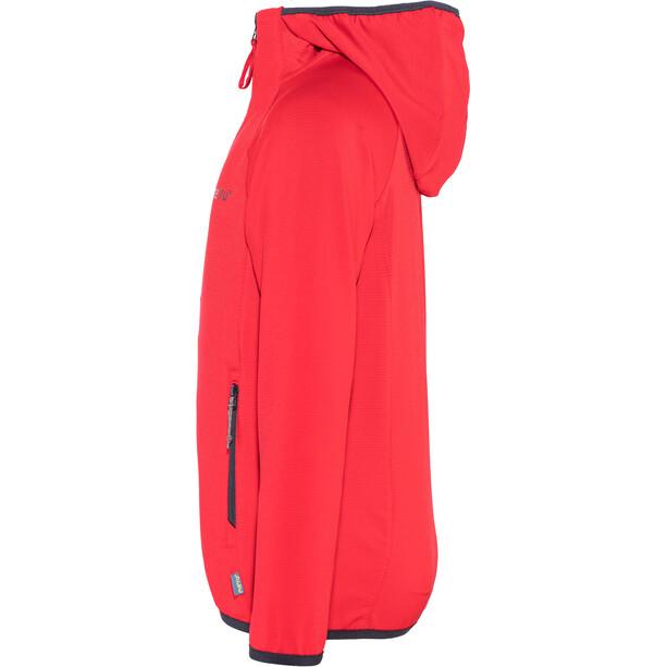 Meru Edendale Stretch Fleece Kinder high risk red