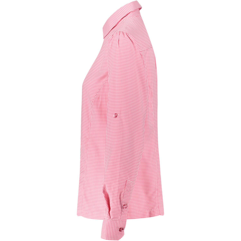 Meru Visalia Funktionelle Langarmbluse Damen pink