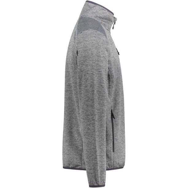 Meru Alimos Stretch Fleece-takki Miehet, harmaa