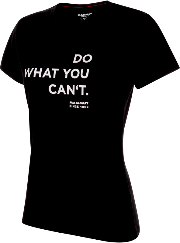 Mammut Seile T-Shirt Damen black Klettershirts M 1017-00980-00255-114