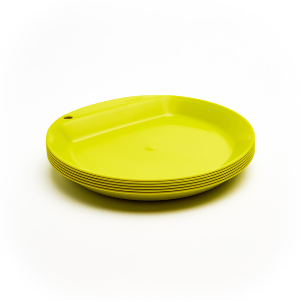 Wildo Camper Plate Flat Set Unicolor 6x lime