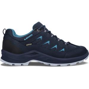 Lowa Levante GTX Low-Cut Schuhe Damen navy/turquoise navy/turquoise