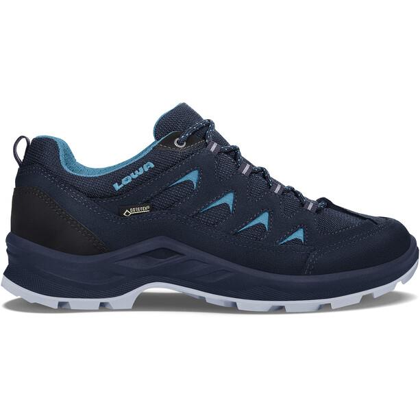 Lowa Levante GTX Low-Cut Schuhe Damen navy/turquoise