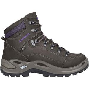 Lowa Renegade GTX Mid-Cut Schuhe Damen slate/blackberry slate/blackberry