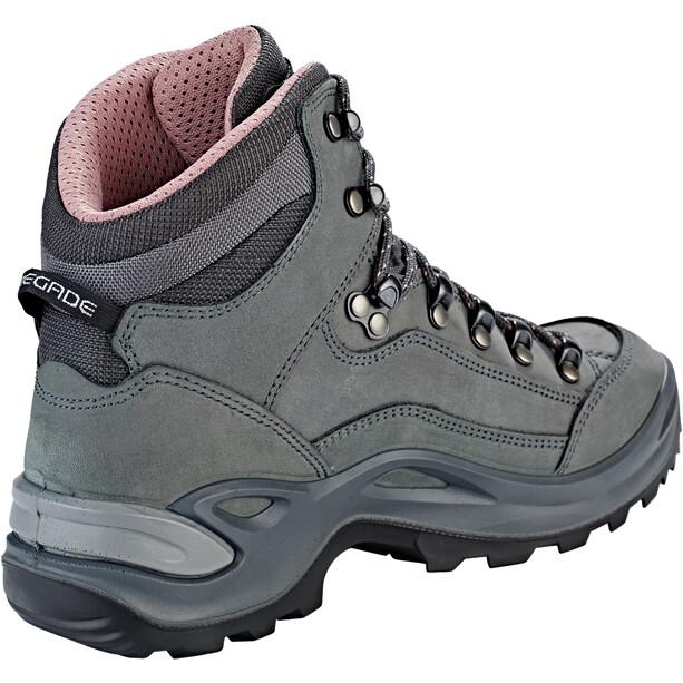 Lowa Renegade GTX Mid-Cut Schuhe Damen graphite/rosé