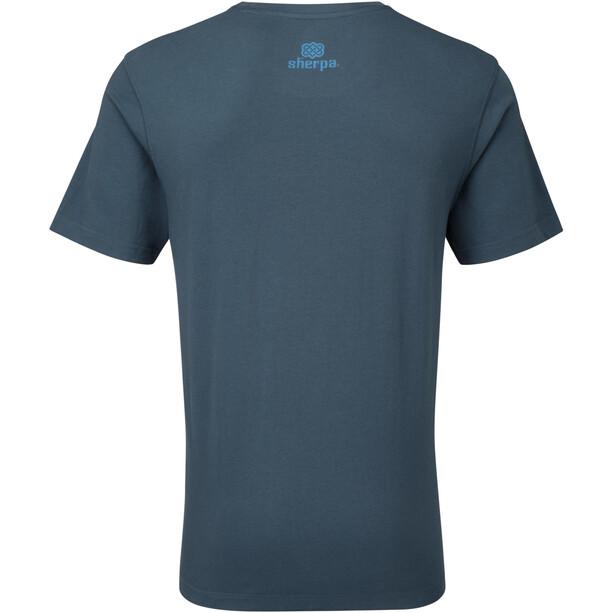 Sherpa Lungta T-Shirt Herren neelo blue