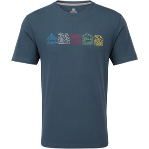 Sherpa Lungta T-Shirt Herren neelo blue neelo blue