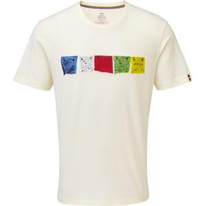Sherpa Tarcho T-Shirt Herren katha white katha white