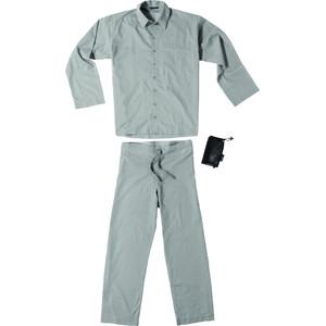 Traveler's Tree Insect Shield Travel Pyjama Heren, grijs grijs